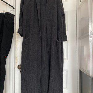 Vince x-long cardigan coat (no closure)